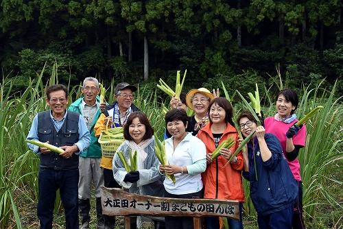 第一回 大正田マコモオーナー制度「収獲祭」