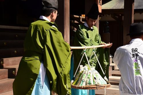 8回目となるマコモタケ及びマコモ活用食品の伊勢神宮奉納5