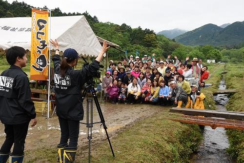 第二回 大正田マコモオーナー制度「田植祭」